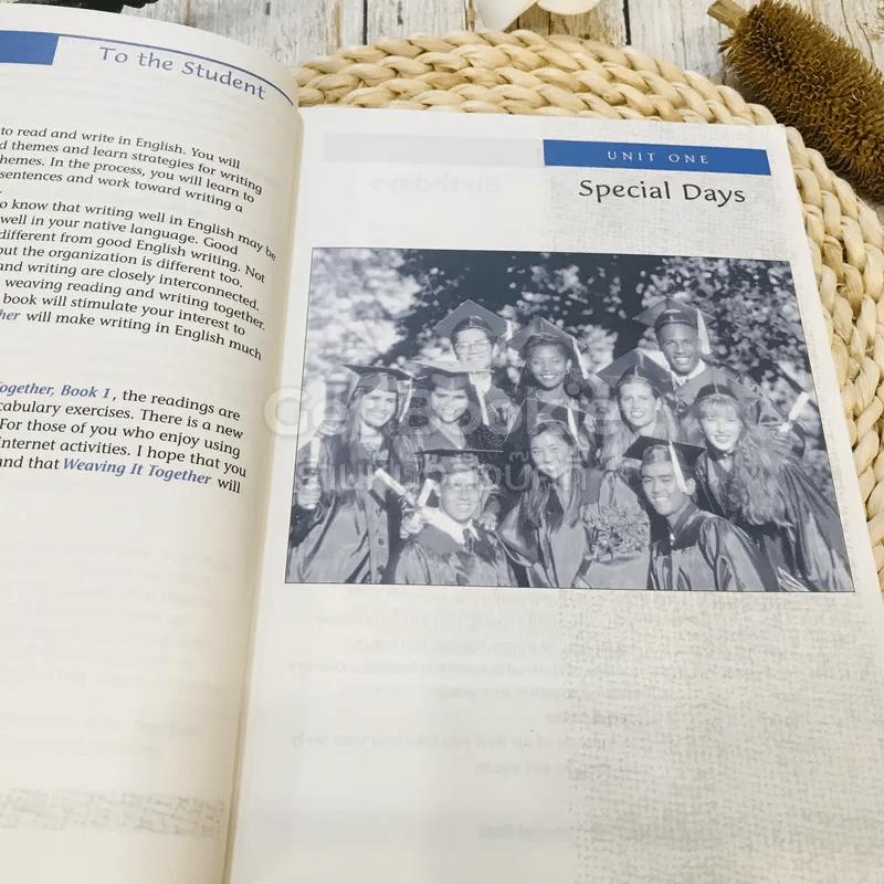 หนังสือเรียนสาระการเรียนรู้เพิ่มเติมภาษาอังกฤษ (อ่าน เขียน) Weaving It Together