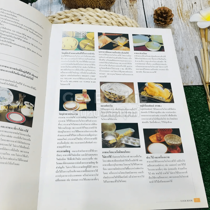 Microwave Oven Cook Book คู่มืออาหารเตาอบไมโครเวฟ