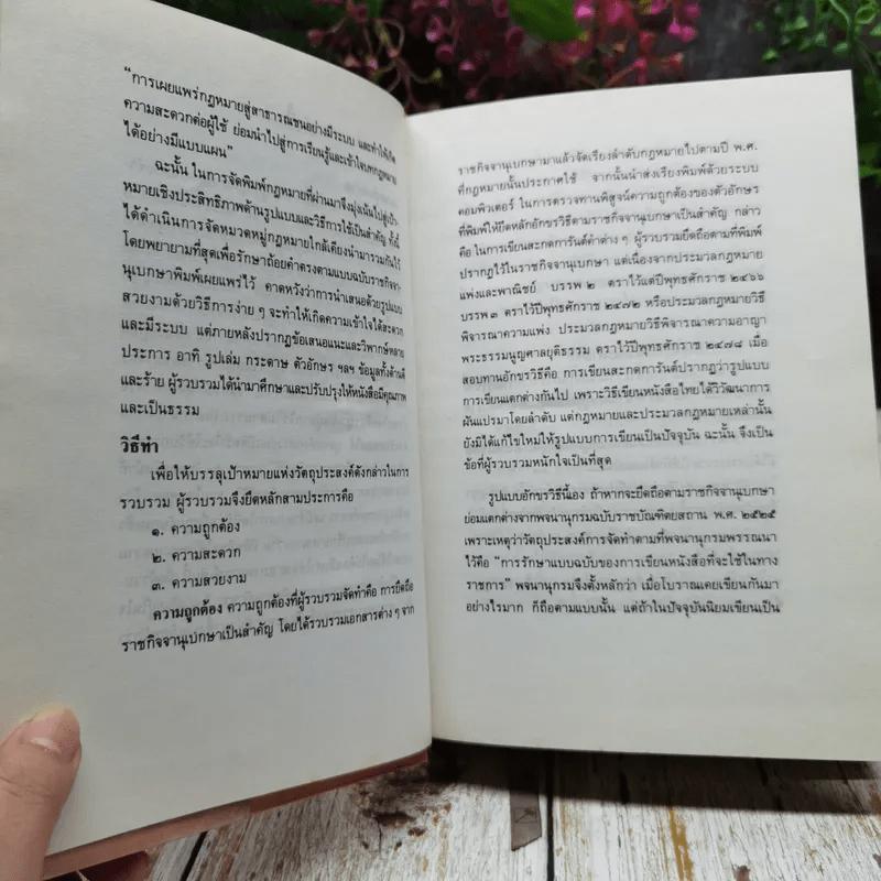 ประมวลกฎหมายแพ่งและพาณิชย์ บรรพ 1-6 แก้ไขเพิ่มเติม ฉบับสมบูรณ์