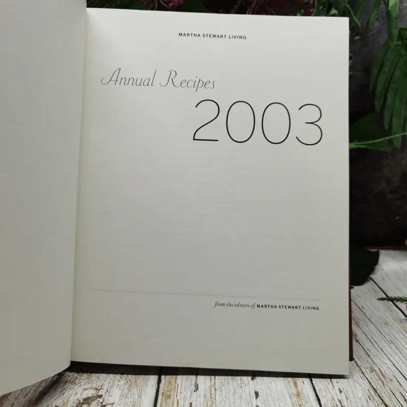Martha Stewart Living 2003