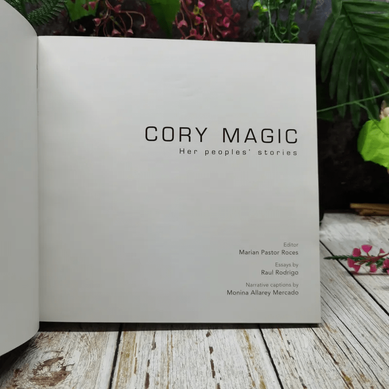 Cory Magic Her peoples' stories