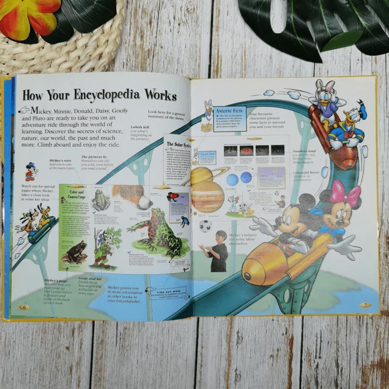 Disney The Wonderful World of Knowledge Dinosaurs