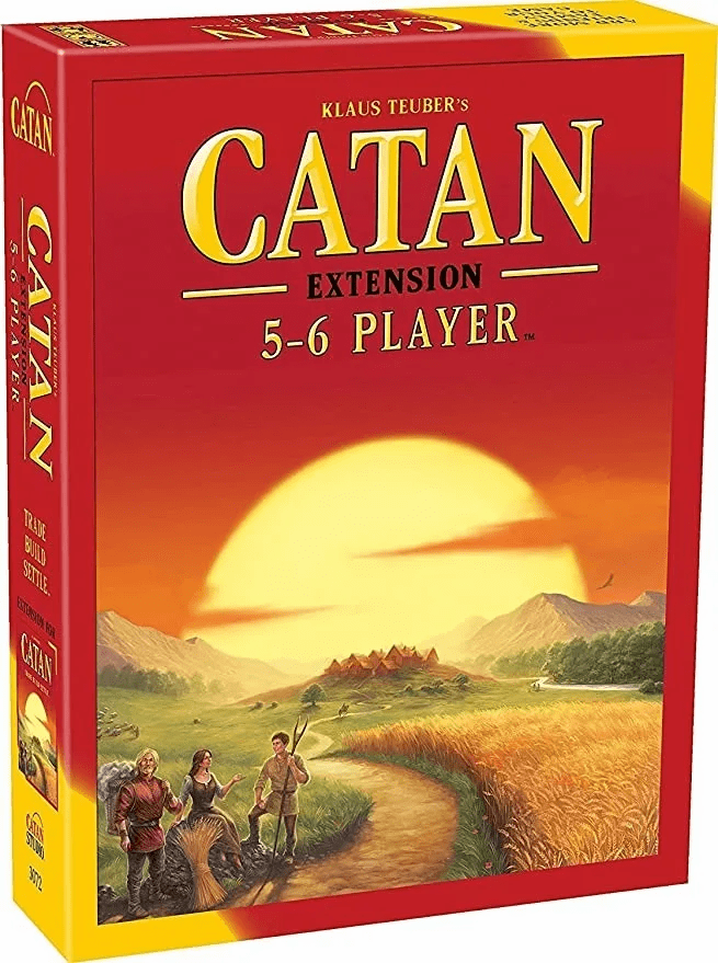 Catan Extension - 5-6 Player Board Game