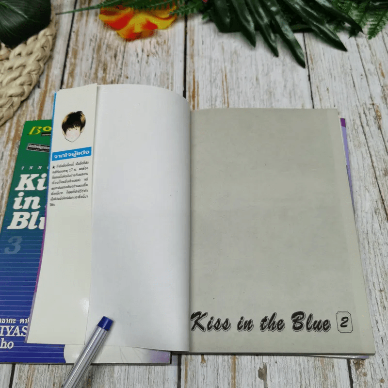 Kiss in the Blue 4 เล่มจบ