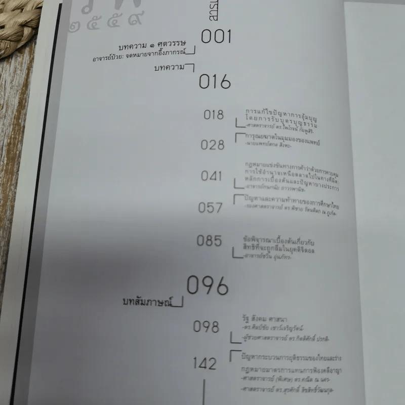 รพี 2559 คณะนิติศาสตร์ มหาวิทยาลัยธรรมศาสตร์