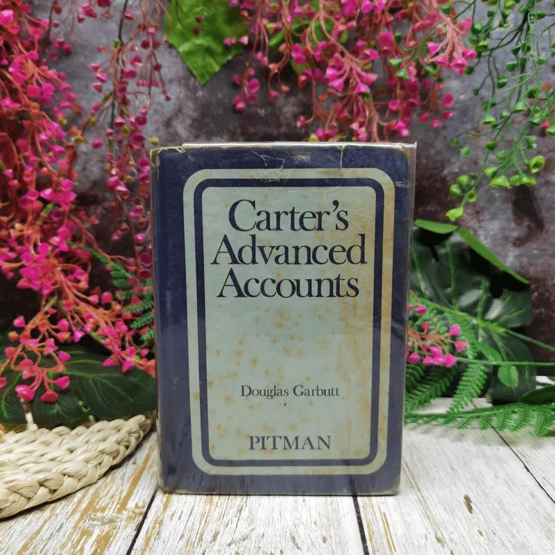 Carter's Advanced Accounts = Douglas Garbutt
