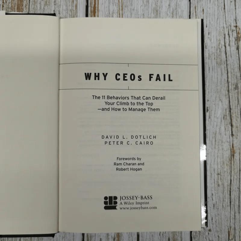 Why CEOs Fall
