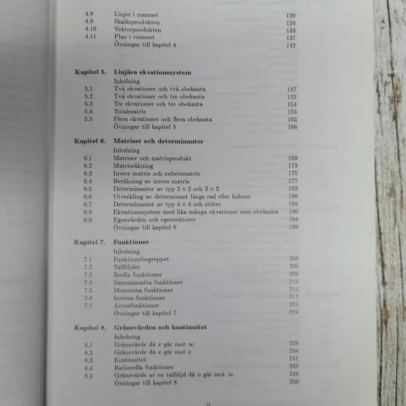 Matematik for Ingenjorer