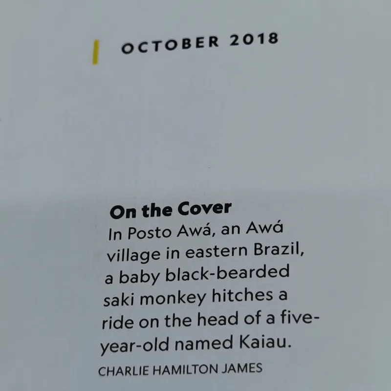 National Geographic 10.2018